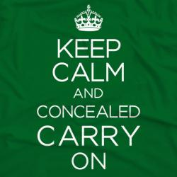Keep Calm and Concealed Carry On